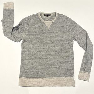 Tommy Hilfiger space dye pullover crew neck